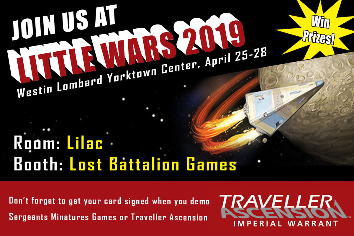 Traveller Little Wars